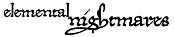 elemental nighmares logo