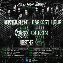 unearth darkest hour tour